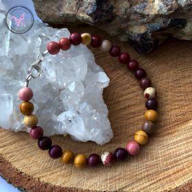 Classical Mookaite Healing Bracelet